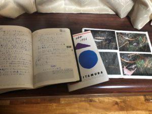 発見した古い釣り手帳とアナログ写真
